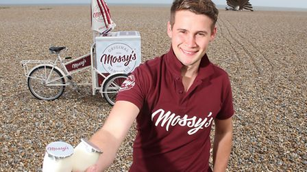 Amos Smith who is launching a new yoghurt called Mossy's from a secret family recipe.