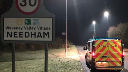 Police have been doing extra patrols in Needham and Bressingham following recent burglaries. Picture