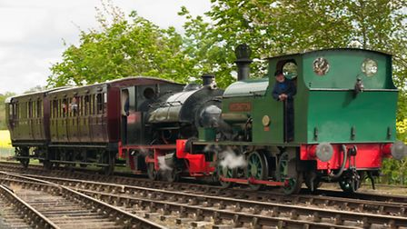 Bank Holiday Weekend at the Mid Suffolk Light Railway.
