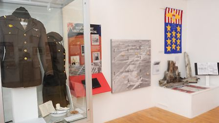 James Marston visits Braintree and District Museum to see their WWII exhibition.