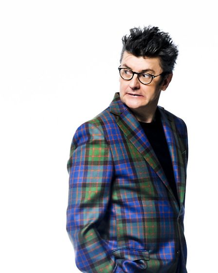 Joe Pasquale says expect a lot of silliness