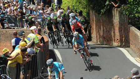 The Tour de France passed over the bridge in 2014, bringing crowds of thousands to the village.