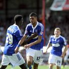 Kevin Bru scored at Brentford but now faces a spell on the sidelines with a hamstring injury