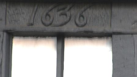 The carving on the lintel that gives us clues about the past