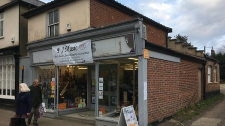 Plans have been submitted to expand the listed building at 27 Mere Street in Diss currently occupied