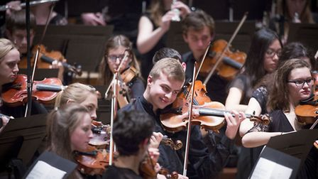 The National Youth Orchestra of Great Britain return to Snape Proms. Photo: Jason Alden