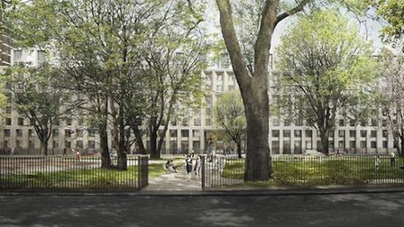 English Architectural Glazing is set to provide glazing at Cartwright Gardens, a student halls schem