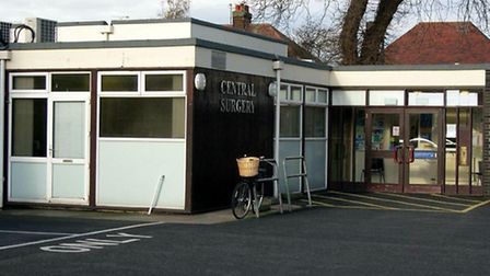 Felixstowe's Central Surgery - to be demolished to make way for a Wetherspoon pub