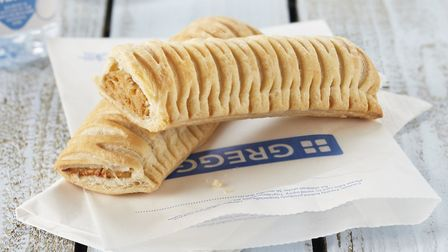 Greggs vegan sausage rolls are now on sale in Diss. Picture: Greggs