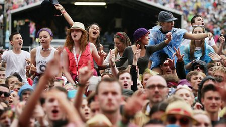 Thousands of people turned out for V Festival