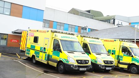 A&E at Colchester General Hospital. Picture: Lucy Taylor