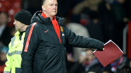 Ipswich Town will face Louis van Gaal's Manchester United.