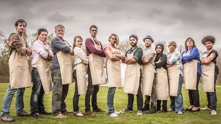 The Great British Bake Off contenders