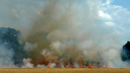 Field fires can have devastating effects, says the CLA's Claire Wright.