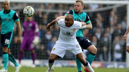 Rodolph Austin, in action for Leeds United.