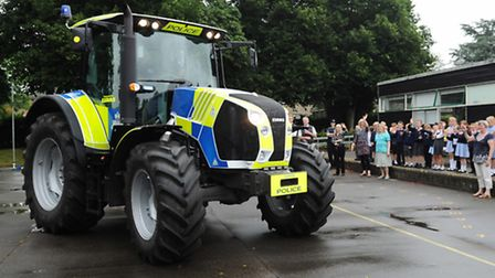 Rural crime has been falling in Suffolk and across East Anglia.