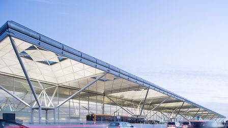Stansted Airport, part of the Manchester Airports Group.