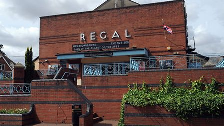 The Regal Theatre in Stowmarket.