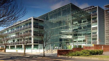 Suffolk County Council's headquarters, Endeavour House, Ipswich