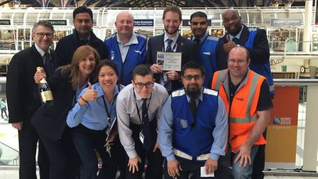 Londong Liverpol Street station wins Major Station of the Year award