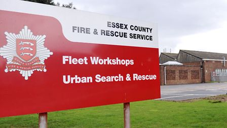 The Essex County Fire and Rescue service fleet workshop is line for an £11m re-build.