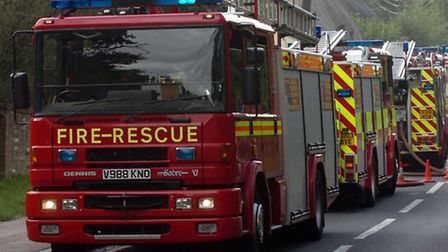 Essex fire service was sent to the incident