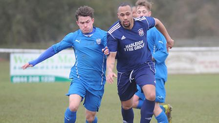Hadleigh are in cup action this week
