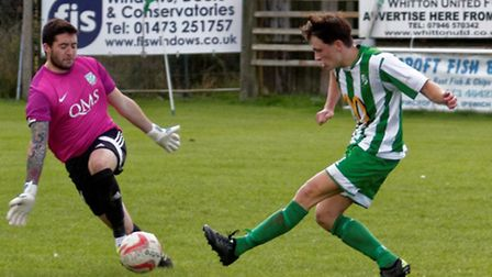 Josh Cheetham scores his second, and Whitton's third goal