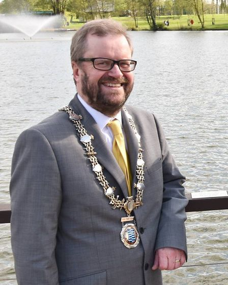 Diss mayor Trevor Wenman said a survey of where young people wanted to see £93,000 invested was the