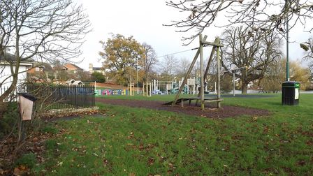 Young people said they wanted to see new play equipment in Diss Park as part of a survey carried out