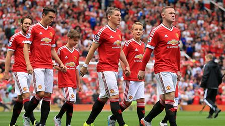 Who will line up for Manchester United at Old Trafford tomorrow night?