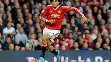 Marouane Fellaini may get a game for Manchester United