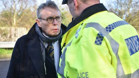 Norfolk Police and Crime Commissioner Lorne Green will be at a public Q&A in Diss. Picture: Antony K
