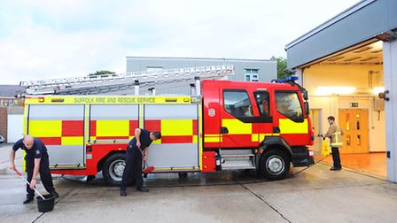Feature on Sudbury and Long Melford on-call firefighters.