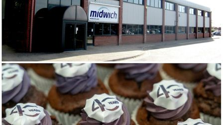 A global business is overseen from the offices in Diss of Midwich, which has just celebrated its 40t