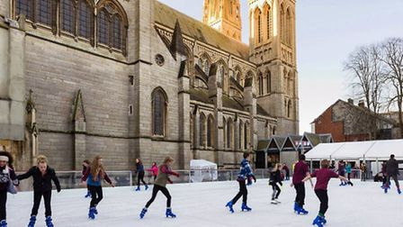 Cousins Entertainment's ice rink in Winchester.
