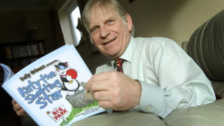 A former head teacher Glyn Walden was insired to write his children's book series by his grandson. P