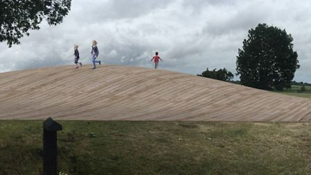Mound by Shiro Studio Architects - one of three fianlists in a competition to find a new sculpture t