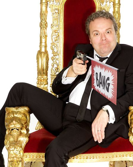 His new tour is called Straight Outta Cruttenden