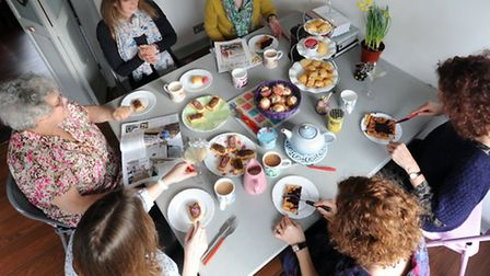 Suffolk Magazine - Brunch at Charlotte Smith-Jarvis's house in Hadleigh.