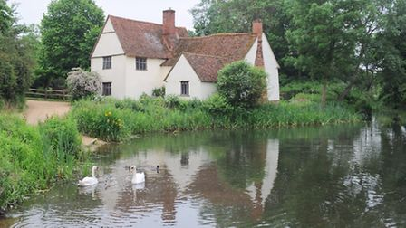 Willy Lotts Cottage at Flatford Mill