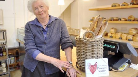 Lady Caroline Cranbrook talks about local food and the Aldeburgh Food Festival at Snape Maltings.