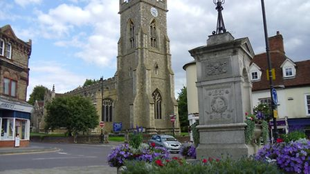 Halstead has won the 2015 Anglia in Bloom competition