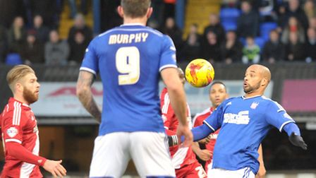 Ipswich Town v Middlesborough. Sky Bet Championship. Ipswich Town take a 2-0 victory over Middlesb