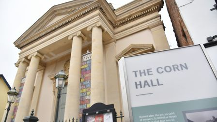 Diss Corn Hall has been redeveloped into a thriving arts hub as part of the Heritage Triangle projec