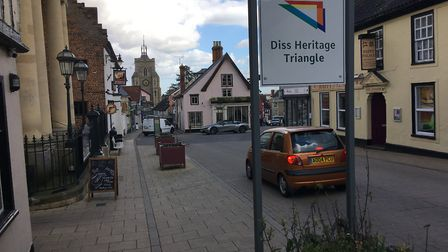 Diss Heritage Triangle has sought to build on the town's historic past as a way of creating keeping