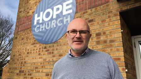Hope Church team leader Graham Blake hope owners of the former Apollo club in Harleston will re-thin
