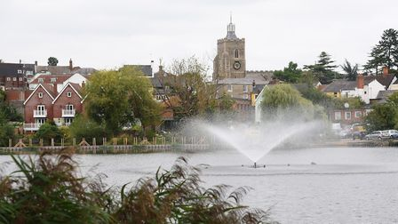 Diss Mere has always been at the centre of town life. Picture: DENISE BRADLEY