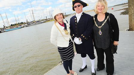 The opening of the Colne Oyster Fisheries ceremony, one of Colchester's oldest and most celebrated a