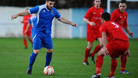 Ipswich Wanderers' Craig Jennings will be looking to fire the Suffolk side into the next round